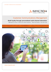 Customer Communications Management brochure image